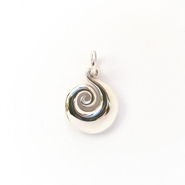 Koru (die Spirale) aus Silber